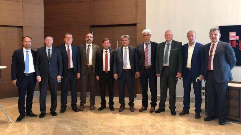 Başkan Arslan TÜRMOB  87. Başkanlar Kurulu Toplantısına Katıldı