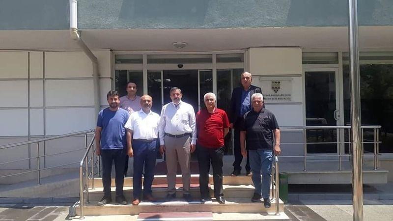 TMO Kırşehir Bölge Müdürlüğüne Teşekkür Ziyareti