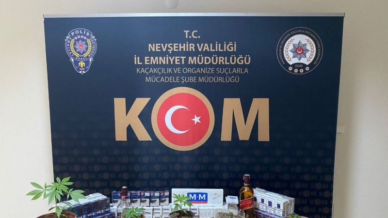 Nevşehir Polisi Kaçakçılıkla Aralıksız Mücadele Ediyor
