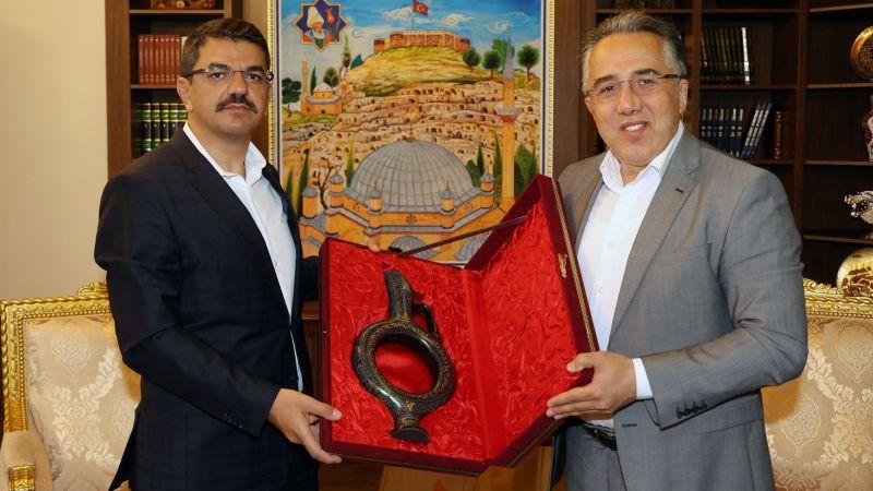 Başsavcı Şahin'den Belediye Başkanı Savran'a Veda Ziyareti