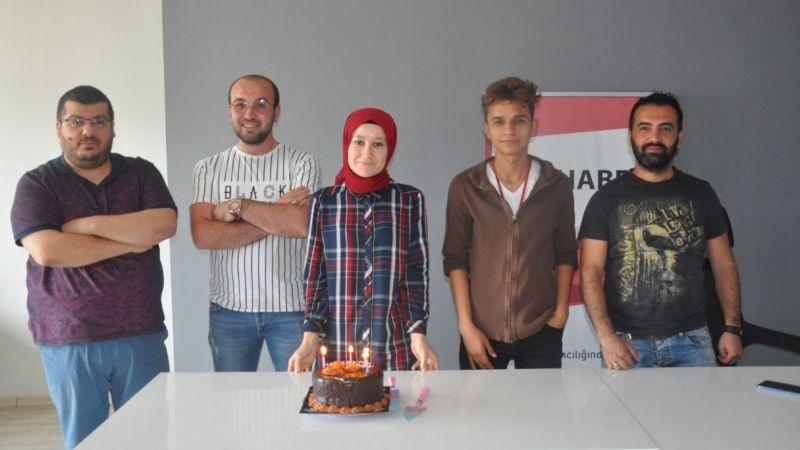 CT Haber Muhabiri Ravza Nur Baydemir'in Mutlu Günü