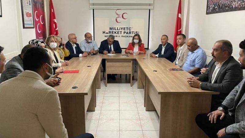 Başkan Yardımcısı Kılıç'tan MHP Nevşehir Teşkilatına Ziyaret