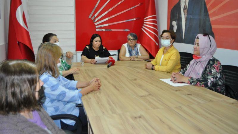 CHP Kadın Kolları Başkanı Topraktepe'den İstanbul Sözleşmesi Açıklaması