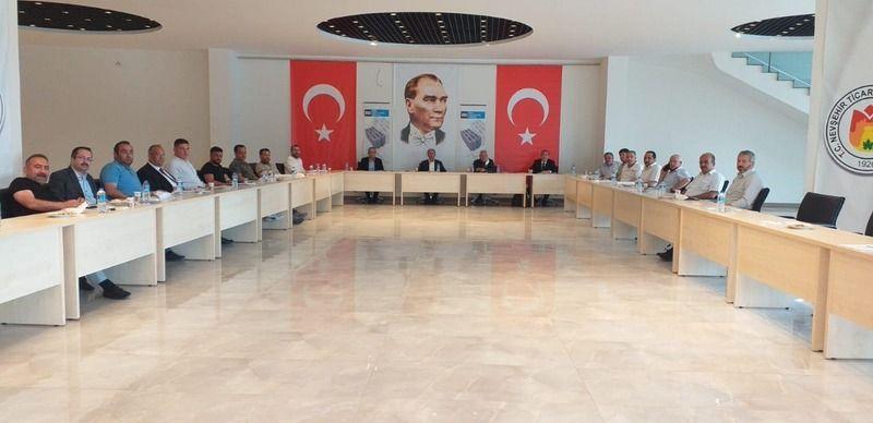 Nevşehir BİMS Sanayiciler Derneğinde Bayrak Değişimi