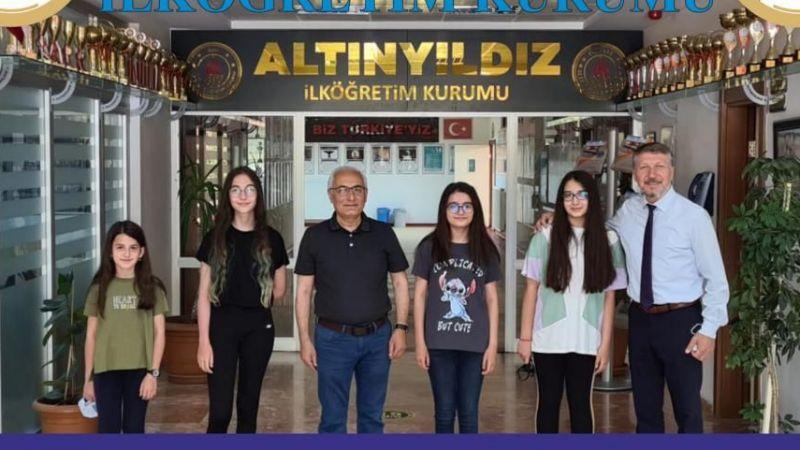 Altınyıldızlılar Tübitak Türkiye Finallerinde