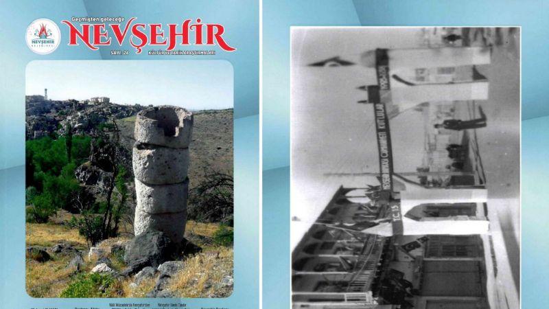 Nevşehir Kültür ve Tarih Araştırmaları Dergisi'nden Yeni Sayı!