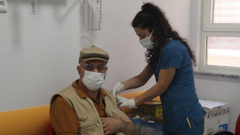 Nevşehir'de Yapılan Aşı 169 Bin 385 Dozu Buldu