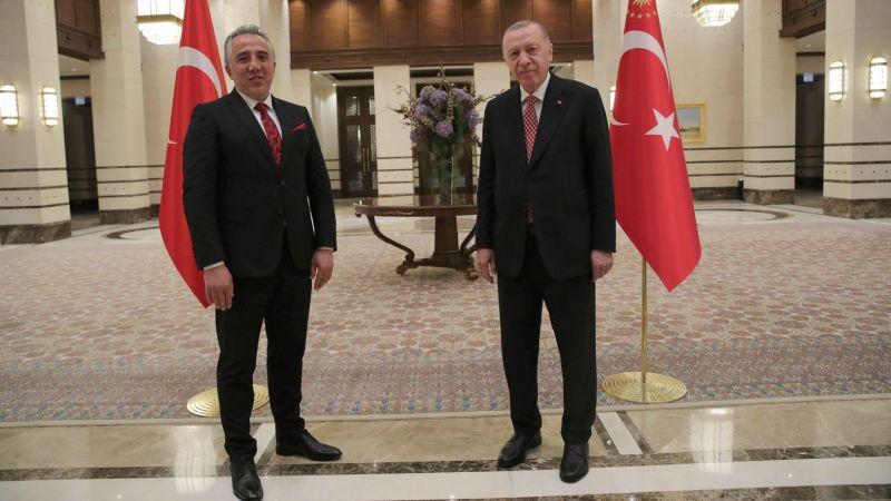 Başkan Savran, Cumhurbaşkanı Erdoğan ile Görüştü