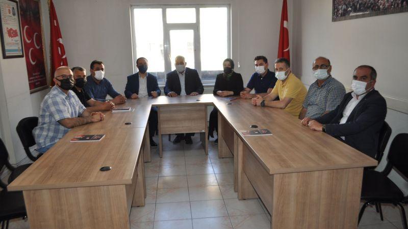 AK Parti'den MHP'ye İade-i Ziyaret