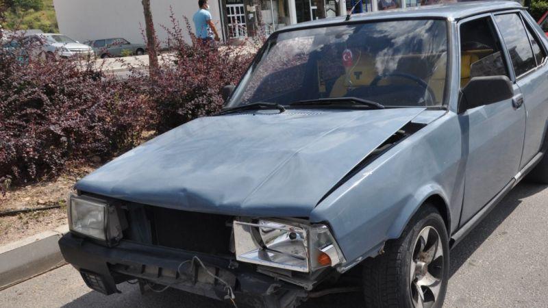 Milli İrade Caddesi'nde Trafik Kazası