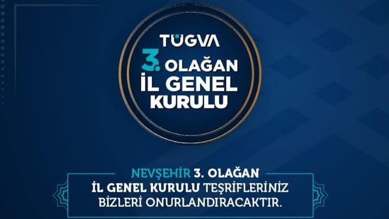 TÜGVA'dan Cuma Günü Gerçekleştirilecek Genel Kurula Davet