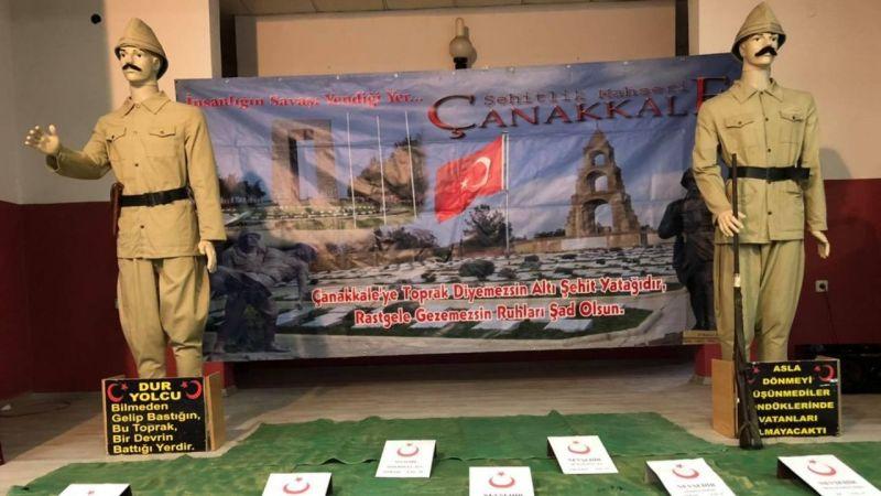Çanakkale Savaşları Gezici Müzesi Kaymaklı'da