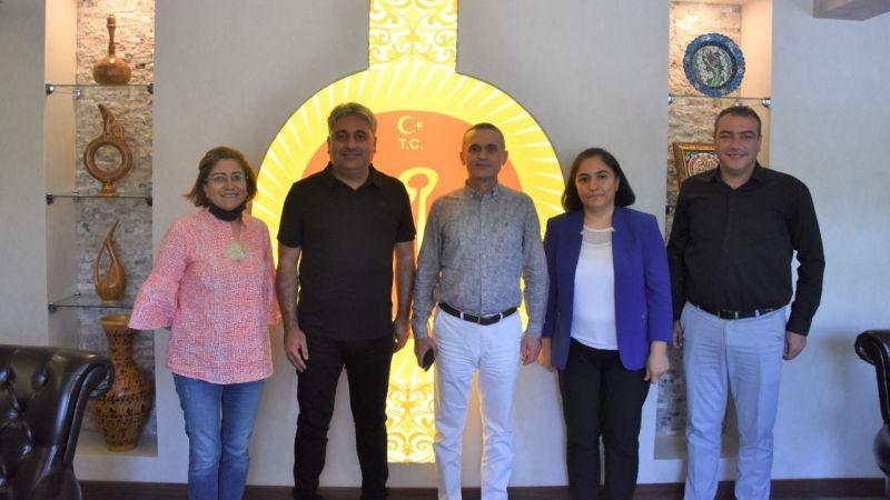SGK İl Müdürü Baltacı'dan Duru'ya Ziyaret
