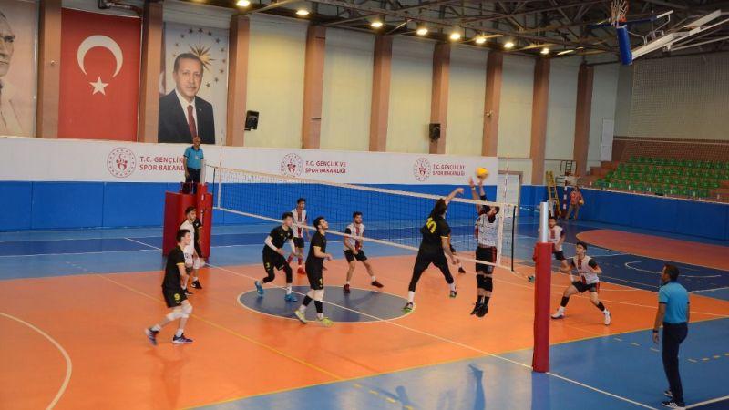 Voleybol Bölgesel Lig Final Müsabakaları Nevşehir'de Tamamlandı!