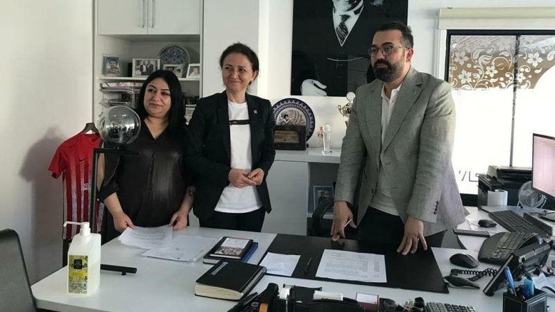 CHP Kadın Kolları ve Nevşehir Tabipler Odası Protokol İmzaladı