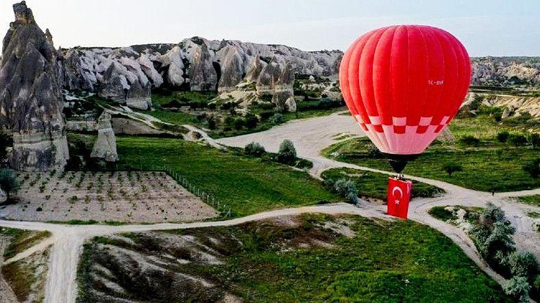 İlk Kez Yurt Dışına Yerli Üretim Sıcak Hava Balonu İhraç Edildi