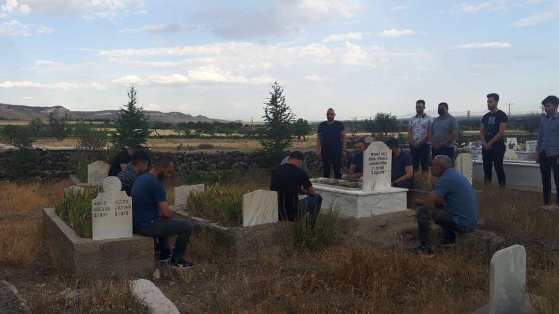 Nevşehir Ülkü Ocakları Başkanlığı'ndan Ülkücü Kemal Pınarlık'ın Kabrine Ziyaret