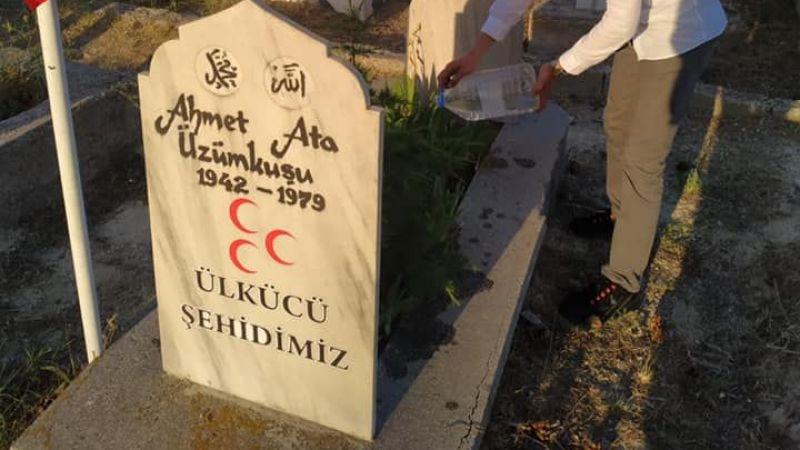 Ürgüp Ülkü Ocakları'ndan Ülkücü Şehit Mezarına Ziyaret