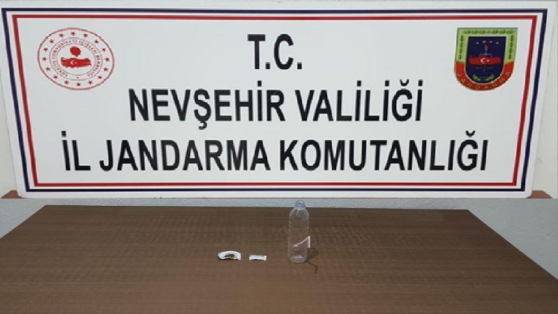 Gülşehir'de 1 Kişi Uyuşturucudan Gözaltına Alındı