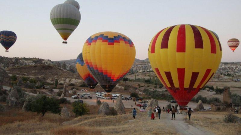 Türkiye İlk Kez Yurt Dışına Balon Sattı