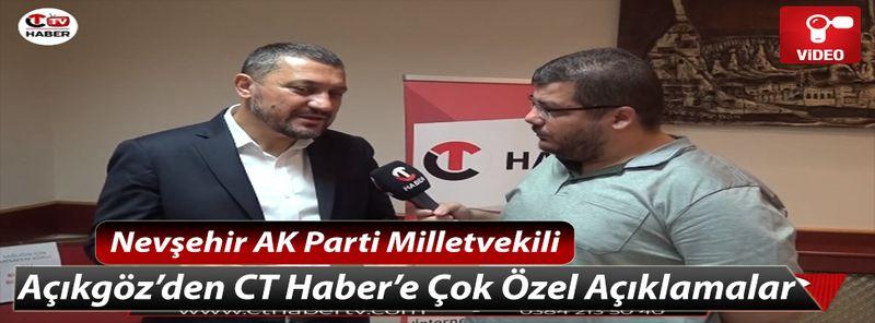 Nevşehir AK Parti Milletvekili Açıkgöz, NEVÜ Konusunda Açıklamada Bulundu