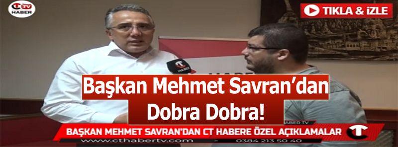 Başkan Mehmet Savran'dan Belediyeye Bir Sonraki Dönem Aday mı?
