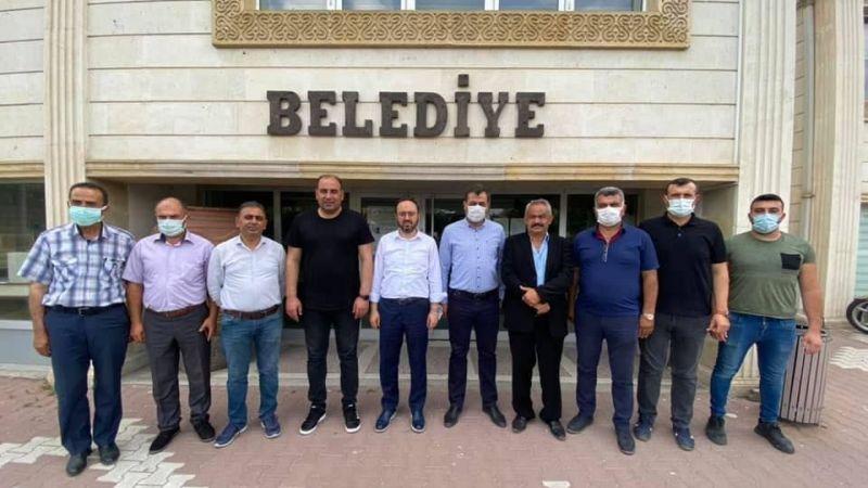 AK Parti Heyetinden Kaymaklı Belediyesi'ne Ziyaret