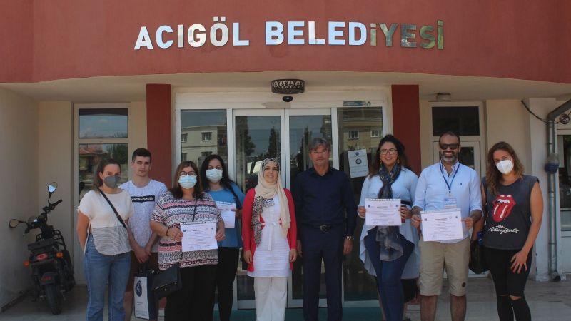 Acıgöl İlçesinde AB Projesi Kapsamında Yabancı Misafirler Ağırlandı