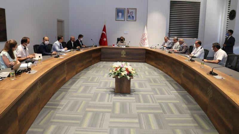 Nevşehir Kozaklı TDİOSB İstişare Toplantısı Gerçekleştirildi