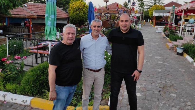 MHP'li Başkanlar Altıok'u Ziyaret Etti