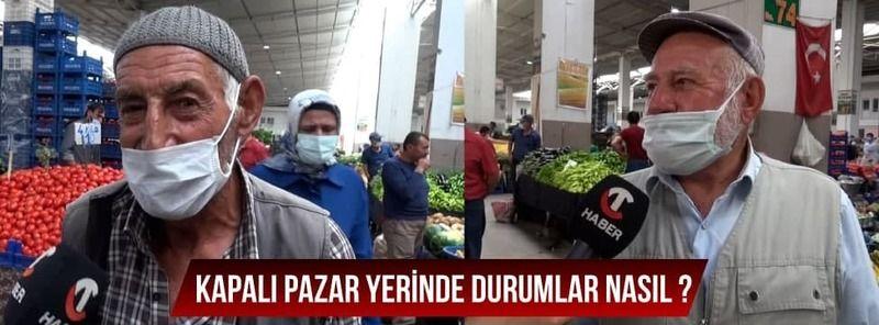 CT Haber Nevşehir Kapalı Pazar Yerinde!