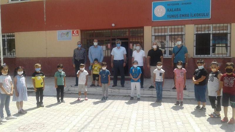 Müdür Örtlek, Özkonak, Kalaba ve Topaklı Okullarını Ziyaret Etti
