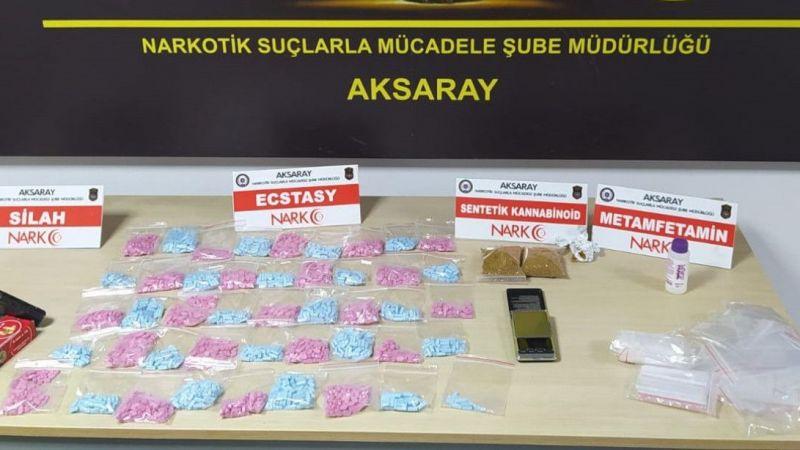 Komşu İl Aksaray'da Uyuşturucudan 9 Tutuklama