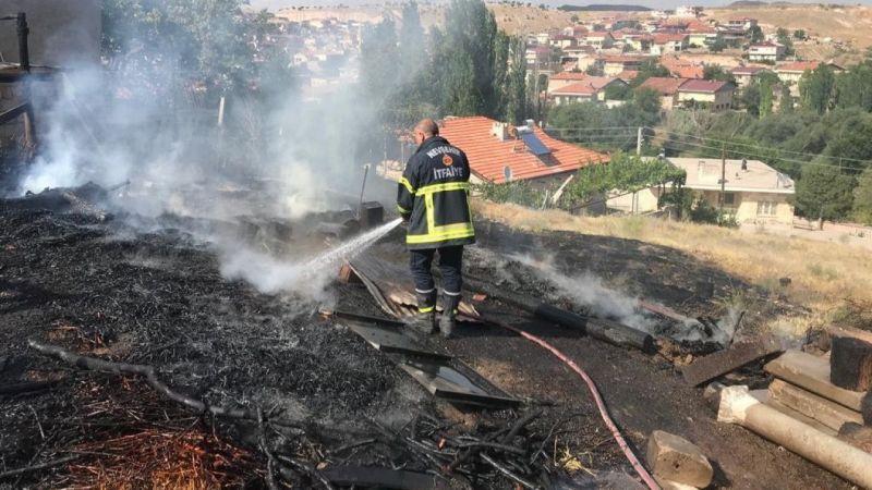 Nevşehir İtfaiyesi Arazi Yangınlarına Karşı Uyardı