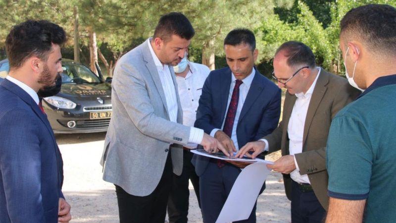 Ürgüp Belediye Başkanı Aktürk Spor Kompleksi Çalışmalarına Başlıyoruz