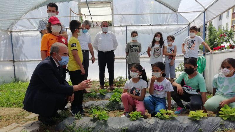Milli Eğitim Müdürü Murat Demir Okul Etkinliklerine Katıldı