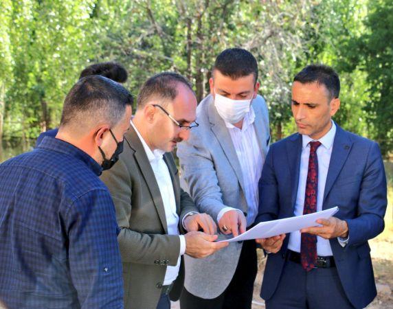 Ürgüp AK Parti İlçe Başkanı Yatırımları Yerinde İnceledi