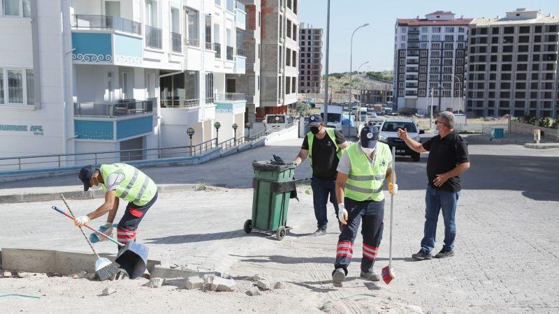 Belediye Ekiplerinden Temizlik Seferberliği