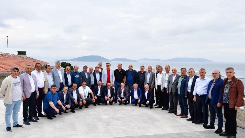 07 Temmuz 2021 Başkan Salaş, TOBB Toplantısı İçin Demokrasi Adasında