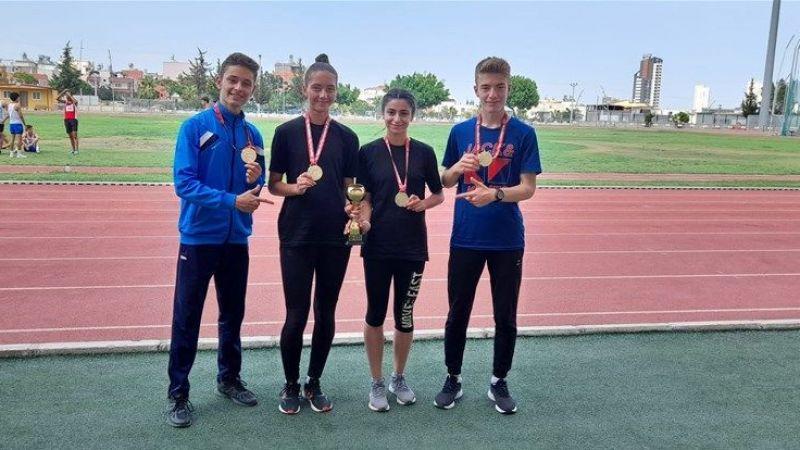 Atletizm Ekibi Mersin'den 1 Kupa ve 4 Madalya İle Döndü