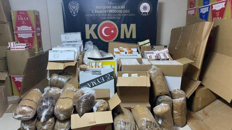 Nevşehir'de 288 bin 480 Makaron Ele Geçirildi