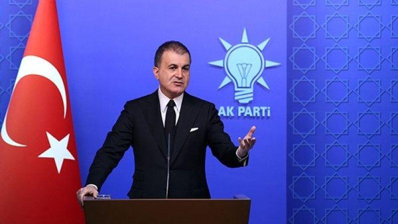 AK Parti Sözcüsü Ömer Çelik'ten CHP'ye Sert Tepki