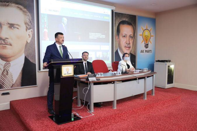 AK Parti Genel Merkezinde Basınla İlişkiler Konusunda Seminer Yapıldı
