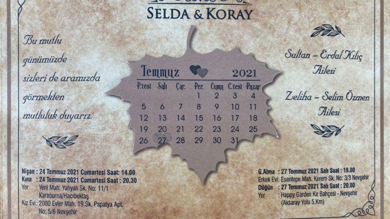 Pazarcılar Odası Başkanı Selim Özmen'in Düğün Telaşı