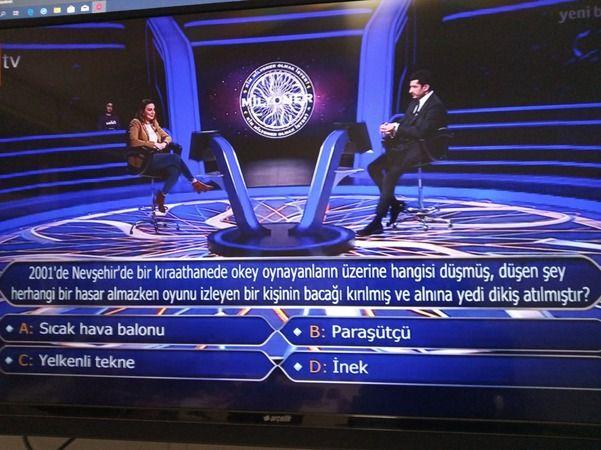 Kim Milyonerde İlginç Nevşehir Sorusu!