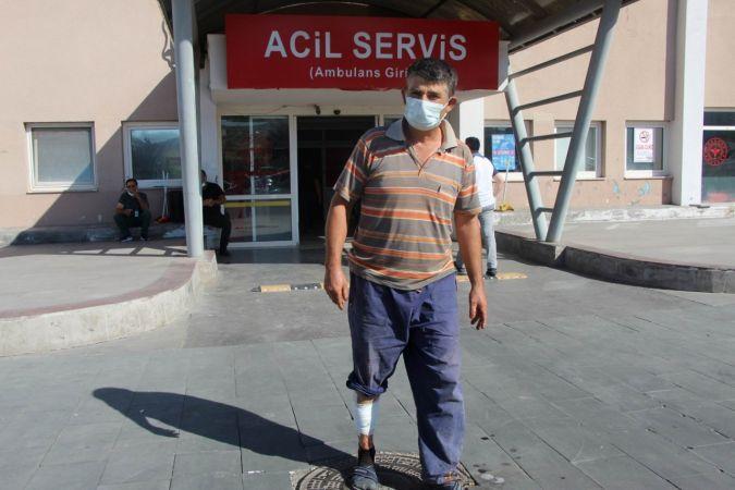Nevşehir'de Acemi Kasaplar Kendilerini Kestiler
