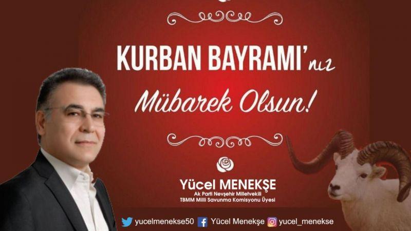 Ak Parti Milletvekili Yücel Menekşe Kurban Bayramını Kutladı