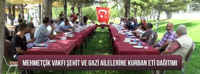 Mehmetçik Vakfı Şehit Ve Gazi Ailelerine Kurban Eti Dağıttı.