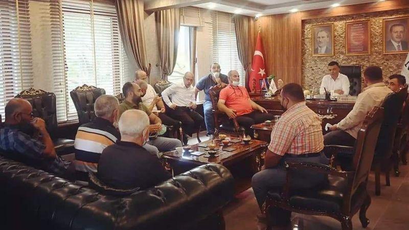 Nar Belediye Başkanı Özçelik Vatandaşlarla Bayramlaştı