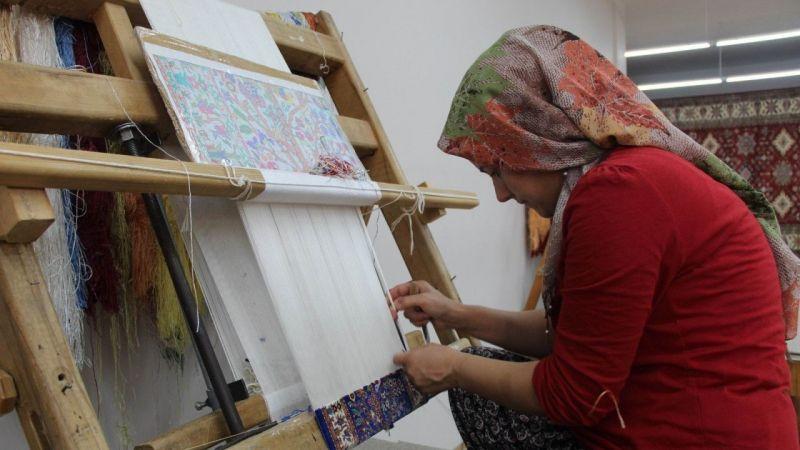 Kapadokya'da Geçmişten Bugüne Halı Kültürü Yaşatılıyor